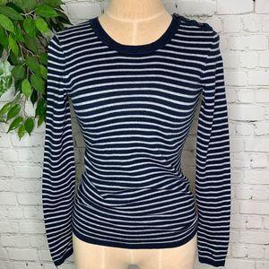 🌻Tommy Hilfiger Cashmere Stripe Crew Neck Sweater